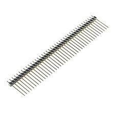 10PCS 1*40 40Pin 2.54mm 19mm Long single row Male Breakable Pin Header NEW