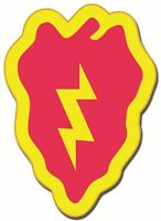 """25th Infantry Division 3.8"""" Sticker / Decal   'Officially Licensed'"""