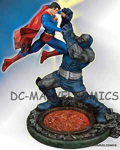 DC COMICS SUPERMAN VS DARKSEID CLASSIC CONFRONTATIONS STATUE MIB MAQUETTE Figure