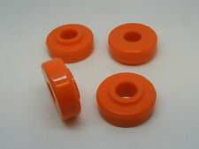 Classic Mini Polyflex Tie Bar Bush Kit Orange rover austin front subframe rod