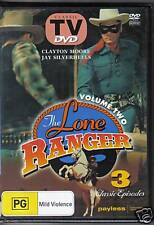 THE LONE RANGER  VOL 2 - DVD - 3 CLASSIC EPISODES - NEW
