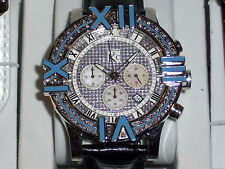 TECHNO COM KC Brand NEW Watch w/ Genuine Diamonds & Mother of Pearls - .25 ctw