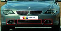 BMW 6 SERIES NEW GENUINE E63 E64 2004-2007 FRONT LOWER GRILL SET OF THREE