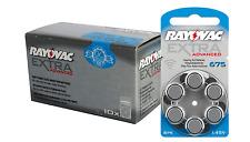 120 Rayovac Extra Hearing Aid Battery Size 675 Super Fresh Expire 2020