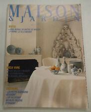 Maison & Jardin French Magazine Jean Marias En Maitre February 1986 101414R1