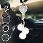 Bling Car Rearview Mirror Accessories for Women&Men, ToyaJeco Diamond White