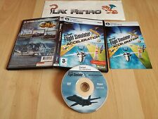PC MICROSOFT FLIGHT SIMULATOR X ACCELERATION EXPANSION PACK COMPLETO PAL ESPAÑA
