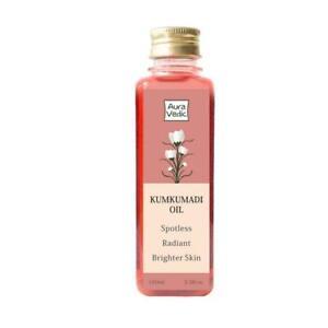 Auravedic Kumkumadi Oil Pure Saffron For Ultra Skin Brightening & Radiance,100ml