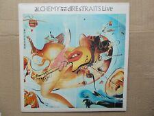 DIRE STRAITS-ALCHEMY(DIRE STRAITS LIVE)-VERTIGO 818 244 (BLACK INNERS) VG+ / EX+