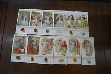 Antique horoscope fortune telling birthday advertisment cards
