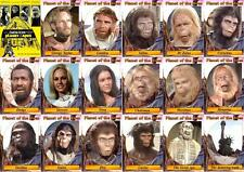 Planet of the Apes (1967) movie trading cards. Charlton Heston.