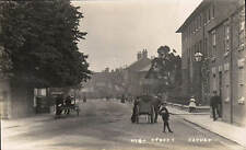 Oakham. High Street & Hand Carts.