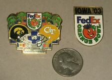 2003 & 2010 Iowa Hawkeyes Georgia Tech Football Orange Bowl lapel pin tie tack