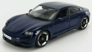 Bburago Models Porsche Taycan 2019 Gentian Blue - 1:24