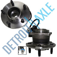 Set (2) New REAR Complete Wheel Hub and Bearing Assembly for Equinox Torrent ABS