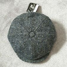 Failsworth Magee Donegal Tweed Mayo 8 Section Flat Cap - 56cm BNWT