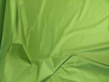 "10 MTRS 64""  WIDE LIME GREEN NON RIPSTOP WATERPROOF WINDPROOF PERTEX  FABRIC"