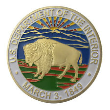 U.S. Department of the Interior GP Challenge Coin 1303#