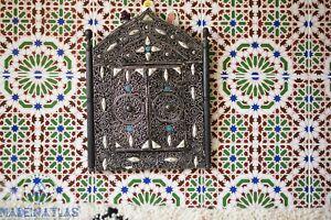 Moroccan Wall Mirror Bone inlay mirror Decorative Mirror Arch Mirror Bone decor