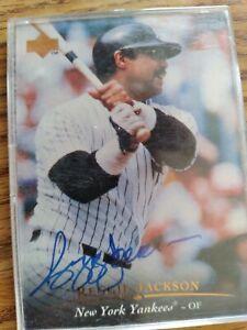 Reggie Jackson Autographed Upperdeck Card AC1