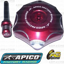 Apico Red Alloy Fuel Cap Breather Pipe For Honda CRF 450R 2017 Motocross Enduro