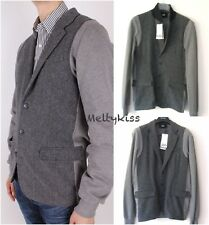 NWT AUTHENTIC DOLCE & GABBANA D&G MEN'S GREY HERRINGBONE JACKET Sz-US M(48)