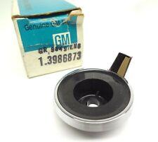 Corvette Nos Radio Volume Knob Control Ring Base Treble Balance Gm 3986873 Oem