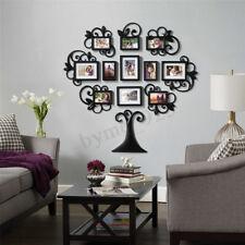 12PCS Family Tree Photo Picture Frame Collage Wall Art Home Xmas Decor Wedding