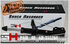 2 BRAND NEW REAR  SHOCK ABSORBERS FOR SUZUKI BALENO (EG) 1995- /  GH-355268 /