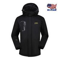 Women Softshell Warm Waterproof Outdoor Windproof Hardshell Winter Rain Jacket