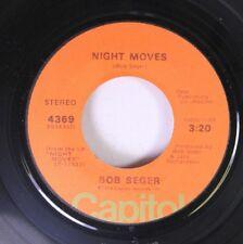 Rock 45 Bob Seger - Night Moves / Ship Of Fools On Capitol