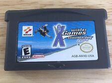 ESPN Winter X Games Snowboarding 2002 (Nintendo Game Boy Advance, 2002) Tested