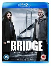 THE BRIDGE - Complete Series 2 All Episodes Second Season New Sealed UK Blu-Ray