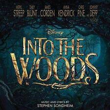 Into The Woods - Banda Sonora Original (Walt Disney) - CD ÁLBUM Dañado FUNDA