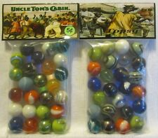 "2 Bags Of Uncle Toms Cabin ""Black Americana"" Promo Marbles"