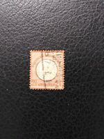 Germany #19 Used, 1872 2 1/2gr Large Shield,  Scott Catalog Value $ 67.50