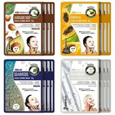 Mitomo Facial Cleansing Skincare Beauty Face Pack Sheet bundles: 4 types -16pkts