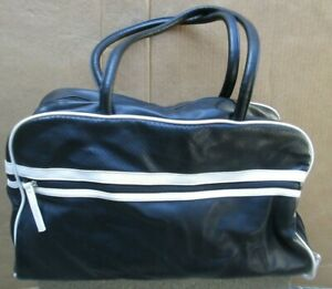 ❤ TOTAL FITNESS Gym Bag Sports Duffle Travel Black Luggage Carry-on FREESHIP