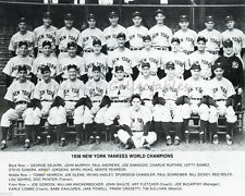 1938 NEW YORK YANKEES BASEBALL WORLD SERIES CHAMPIONS 8X10 TEAM PHOTO