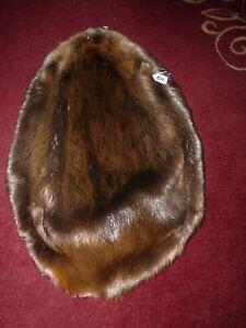 BEAUTIFUL tanned BEAVER HEAVY fur pelt skin B4 LOG CABIN DEN CRAFT MOUNTAIN MAN