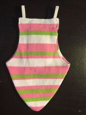 Bird Fashion Nappy/Diaper - Flight Suit Strip Candy Color Mix Toy SMALL Size