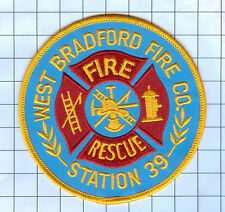 Fire Patch - WEST BRADFORD STATION 39