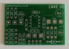 More details for hot cake overdrive pcb circuit board diy guitar effects free uk postage