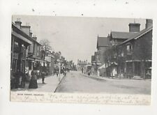 High Street Crawley Sussex 1902 U/B Postcard 659b