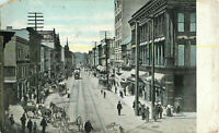 Postcard State Street West, New Castle, PA Posted 1914