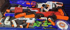 HUGE NEEF GUN LOT!!! NERF GUNS L@@K!