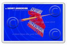 THUNDERBIRDS GERRY ANDERSON CENTURY 21 SIGN  ART NEW JUMBO FRIDGE LOCKER MAGNET