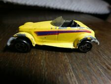 Car~Matchbox Plymouth Prowler Yellow from Open Road
