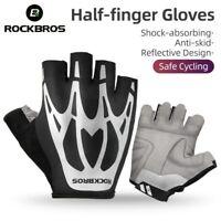 Fingerlose Fahrradhandschuhe Sommer Sport Motorrad MTB Handschuhe Herren Damen