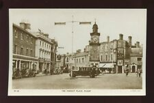 Warwickshire Warwicks RUGBY Market Place c1950s? RP PPC by Tuck